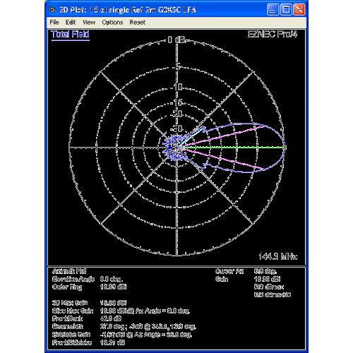 16 element 144MHz LFA Yagi