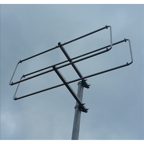 2 element 144MHz LFA-Q Rear Mounting Quad style Yagi