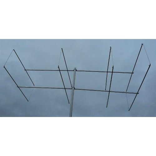 4 element 144MHz LFA-Q Super-Gainer Quad Style Yagi
