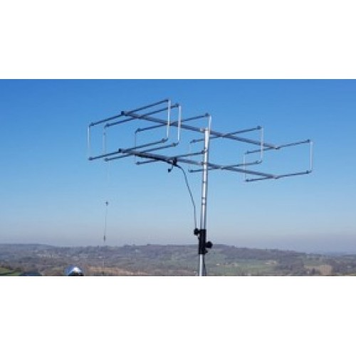 5 element 144MHz LFA-Q Super-Gainer Quad Style Yagi
