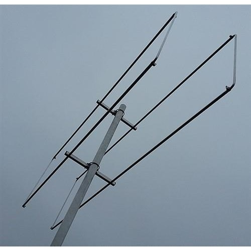 2 element 50MHz LFA-Q Quad Style Yagi