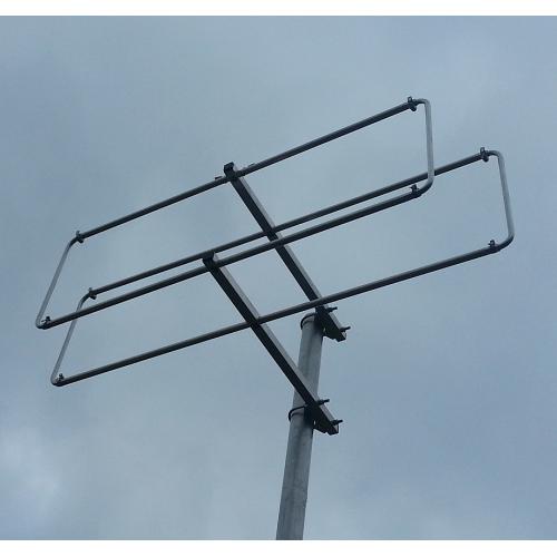 2 element 50MHz LFA-Q Yagi (0.4m) HD