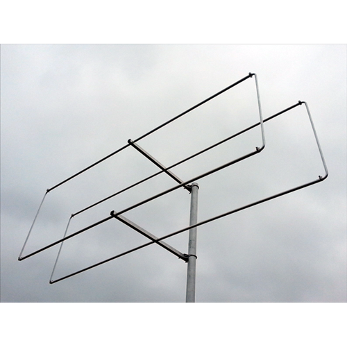 2 element 70MHz LFA-Q Super-Gainer Rear Mounting Quad style Yagi
