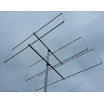 3 element 70MHz LFA-Q Yagi (1.2m) HD Version