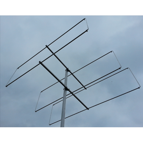 3 element 70MHz LFA-Q Yagi (1.2m) HD Version