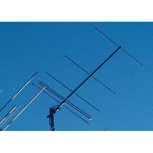 5 element 70MHz OWL Super-Light Yagi