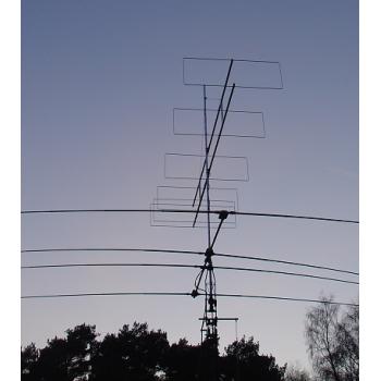 6 element 70MHz LFA-Q Yagi HD version (4.8m)