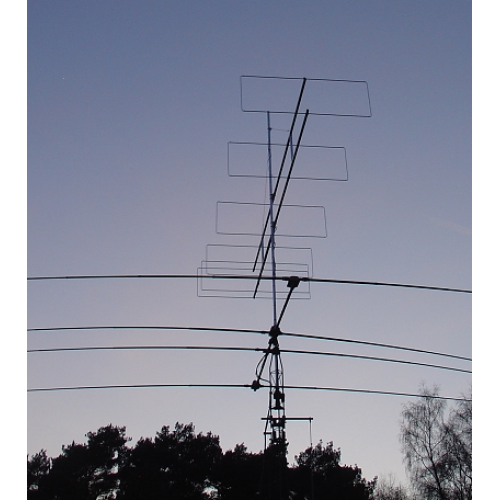 6 element 70MHz LFA-Q Yagi HD version (4.8m)