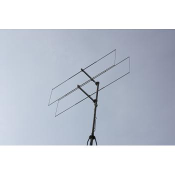 2 element 70MHz LFA-Q Yagi (0.29m) HD Version