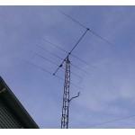 5 element 27/28/29MHz HD OP-DES Yagi (4.8m)