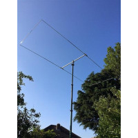 18MHz / 17m Moxon rectangle light weight