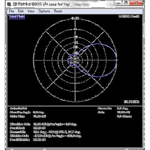6 element 18MHz LFA Yagi (17.7m)