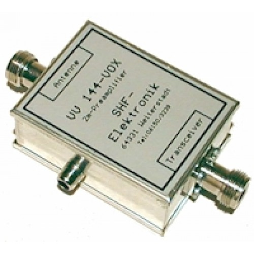 144 MHz preamp