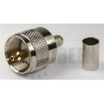 PL259 hane för RG58 / RG142 / RG223 / RG400 / LMR195 / RFC195 kabel