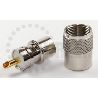 PL259 male solder LMR400/RFC400/RG213/RG8U