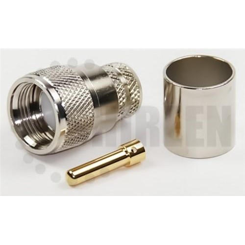 PL male connector RFC LMR 600 crimp