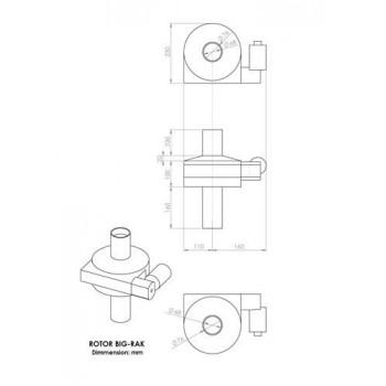 BIG-RAK AZ rotator