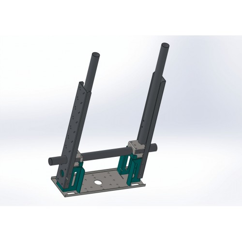 Antenna mount UA-02 with counterweight